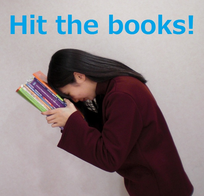 Hit the books!